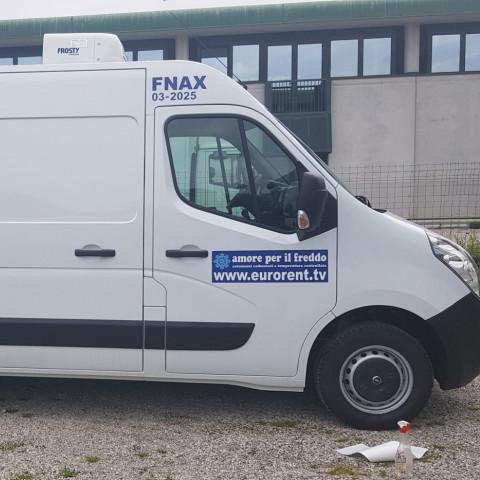 FURGONE FRIGO gruppo FFF OPEL MOVANO FURGONATO